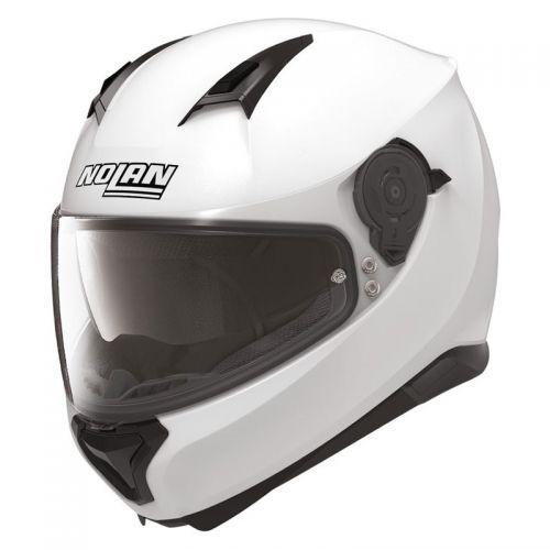 Casque Moto Intégral NOLAN - N87 Special Plus N-Com Pure White