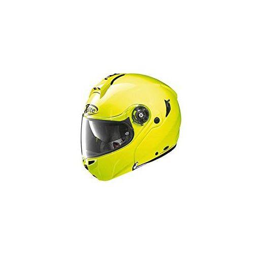 Casque Moto Modulable NOLAN - X1004 Hi-visibility n-Com Fluo Yellow