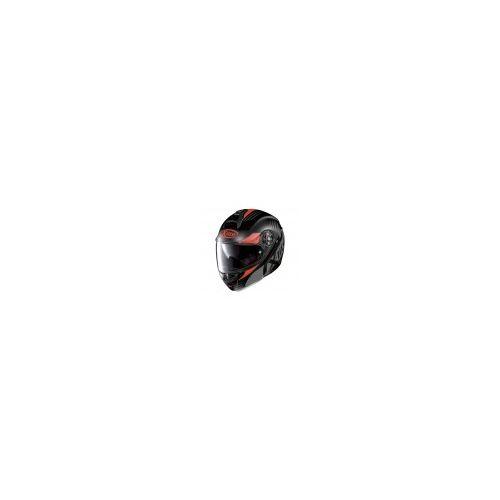 Casque Moto Modulable NOLAN - X1004 Nordhelle n-Com Flat Black/Red