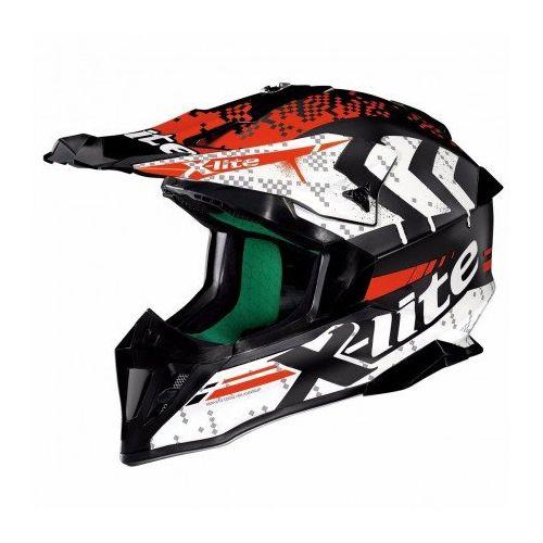 Casque Moto Motocross NOLAN - X502 Nac-nac Flat Black/white