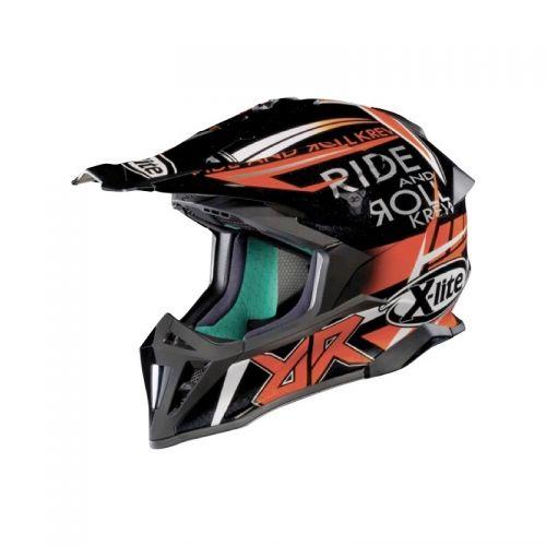 Casque Moto Motocross NOLAN - X502 Replica M. Bianconcini