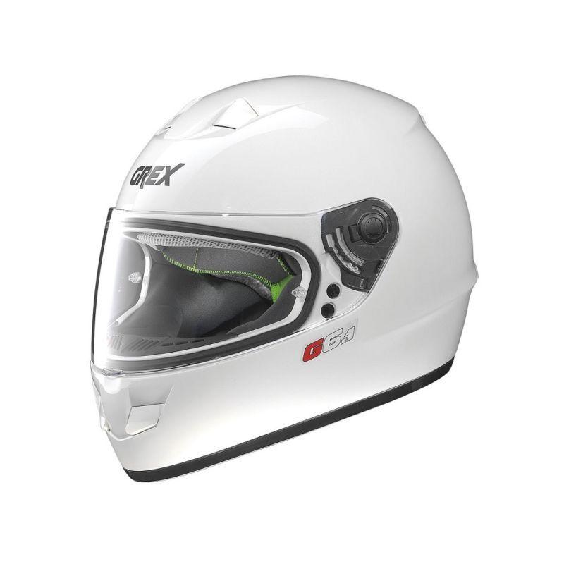 Casque Moto Intégral NOLAN - G6.1 Kinetic Metal White