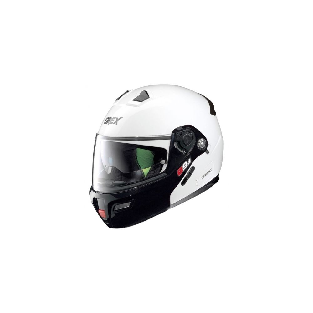 casque moto modulable nolan g9 1 evolve coupl n com metal white speed wear. Black Bedroom Furniture Sets. Home Design Ideas