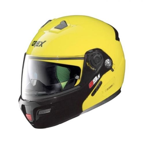 Casque Moto Modulable NOLAN - G9.1 Evolve Couplé n-Com Led Yellow