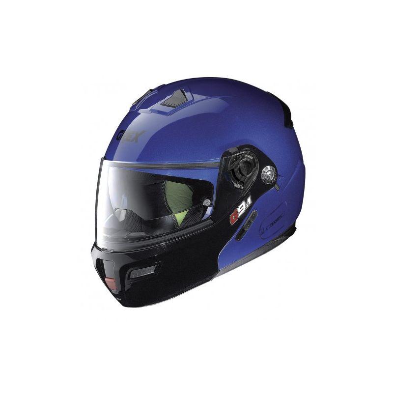 Casque Moto Modulable NOLAN - G9.1 Evolve Couplé n-Com Ex Cayman Blue