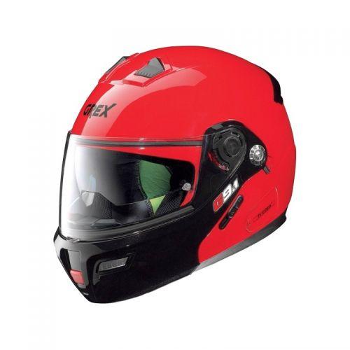 Casque Moto Modulable NOLAN - G9.1 Evolve Couplé n-Com Ex Corsa Red