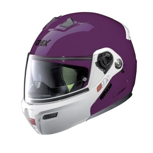 Casque Moto Modulable NOLAN - G9.1 Evolve Couplé n-Com Ex Fuchsia Kiss
