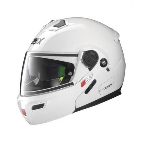 Casque Moto Modulable NOLAN - G9.1 Evolve Kinetic n-Com Metal White