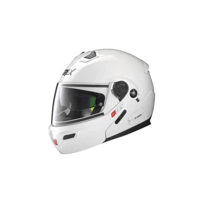 Casque Moto Modulable NOLAN - G9.1 Evolve Kinetic n-Com Metal White