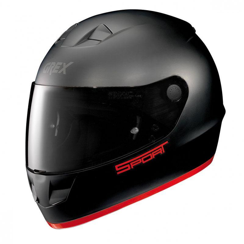 Casque Moto Intégral NOLAN - G6.1 K-sport Flat Black/red