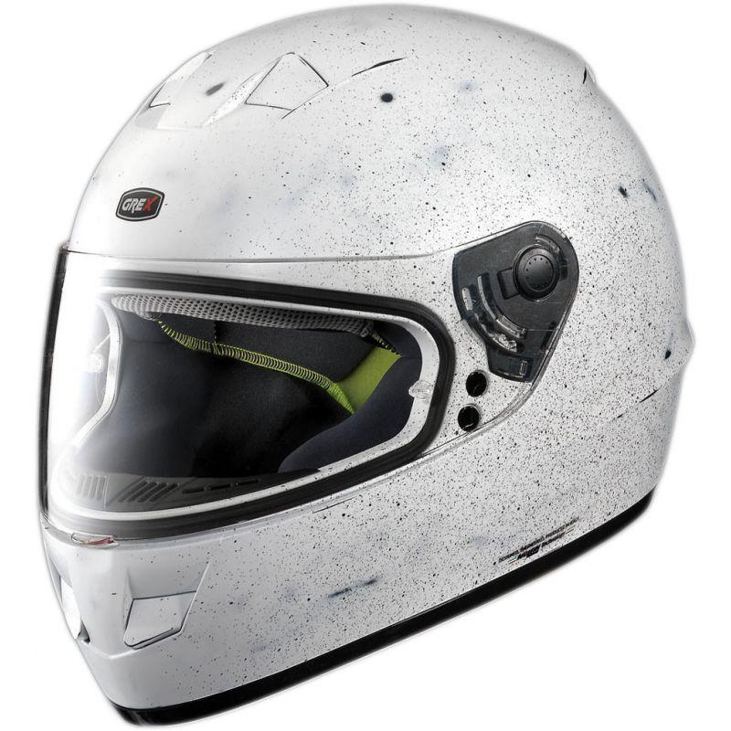 Casque Moto Intégral NOLAN - G6.1 Scraping Scraped Flat White