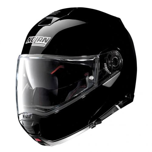 Casque Moto Modulable NOLAN - N100 5 Classic n-Com Glossy Black