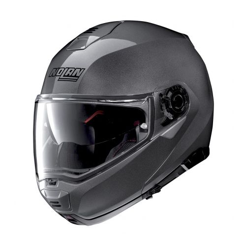 Casque Moto Modulable NOLAN - N100 5 Classic n-Com Lava Grey