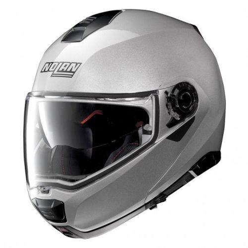 Casque Moto Modulable NOLAN - N100 5 Special n-Com Salt Silver