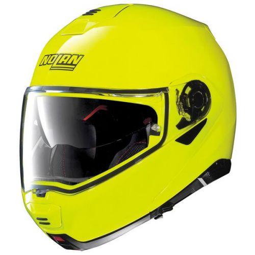 Casque Moto Modulable NOLAN - N100 5 Hi-visibility n-Com Fluo Yellow