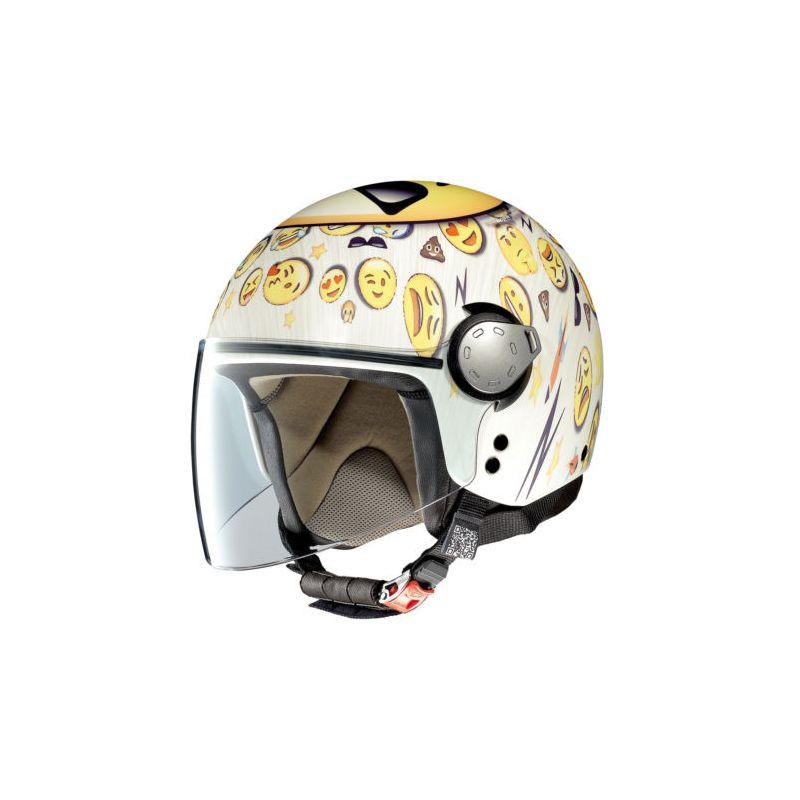 Casque Moto Jet NOLAN - G3.1 Helmetart Cool - Flat