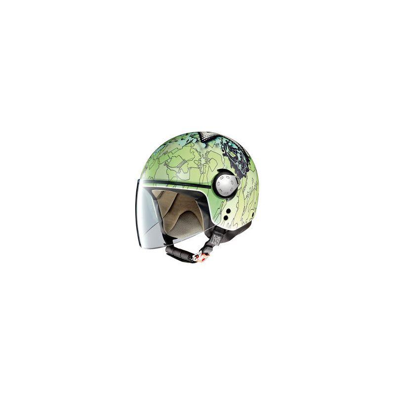 Casque Moto Jet NOLAN - G3.1 Helmetart Free Style - Flat