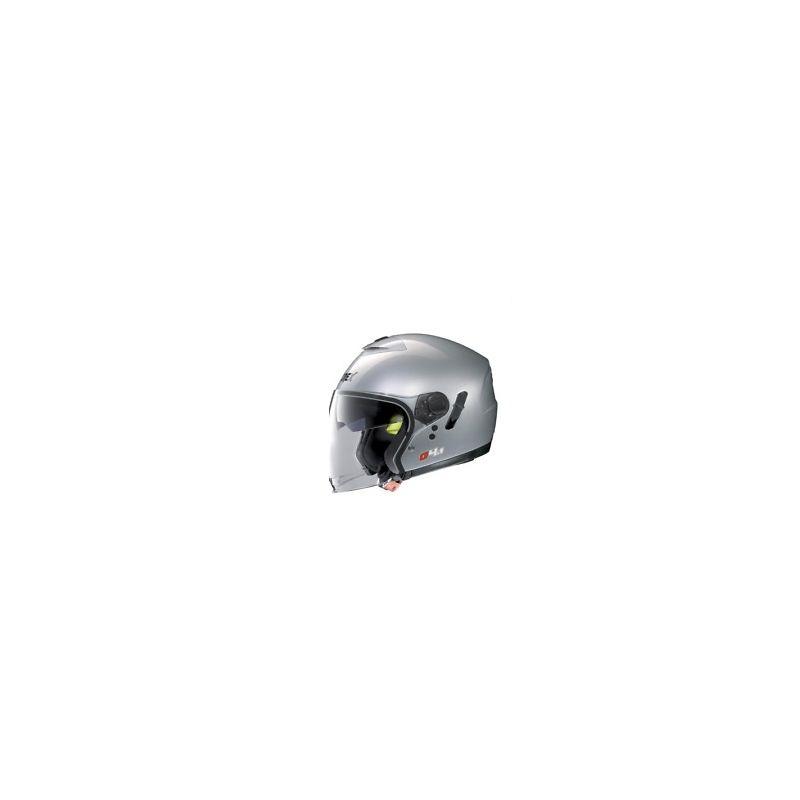 Casque Moto Jet NOLAN - G4.1 Kinetic Metal Silver