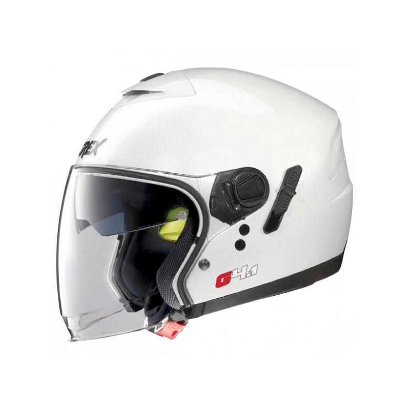 Casque Moto Jet NOLAN - G4.1 Kinetic Metal White