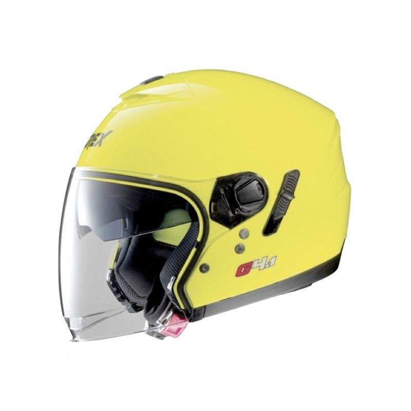 Casque Moto Jet NOLAN - G4.1 Kinetic Led Yellow