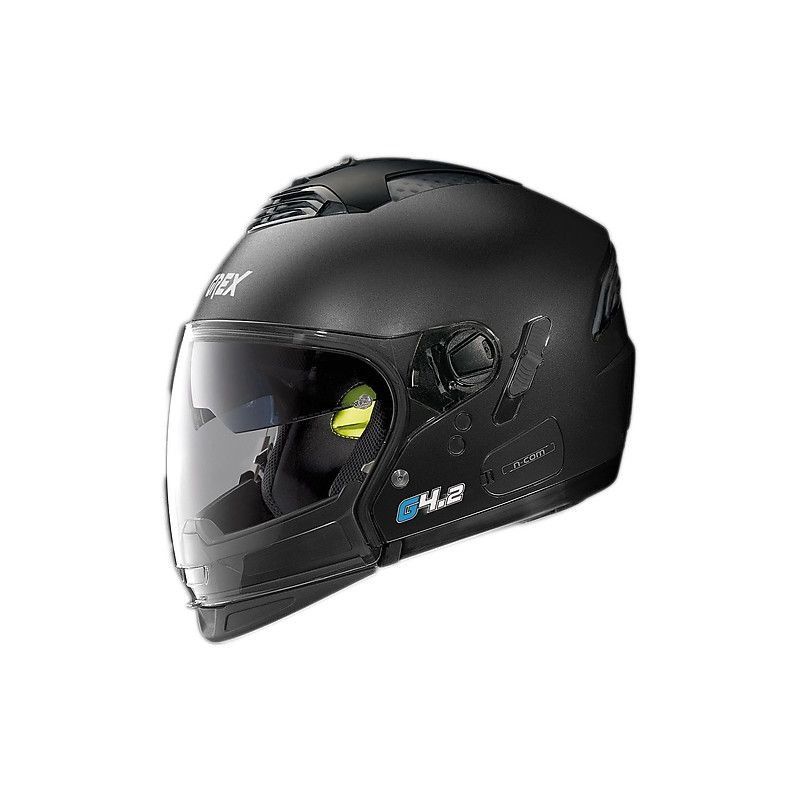Casque Moto Jet NOLAN - G4.2 Pro Kinetic n-Com Black Graphite