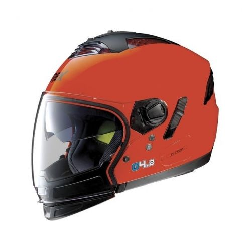 Casque Moto Jet NOLAN - G4.2 Pro Kinetic n-Com EX Corsa Red