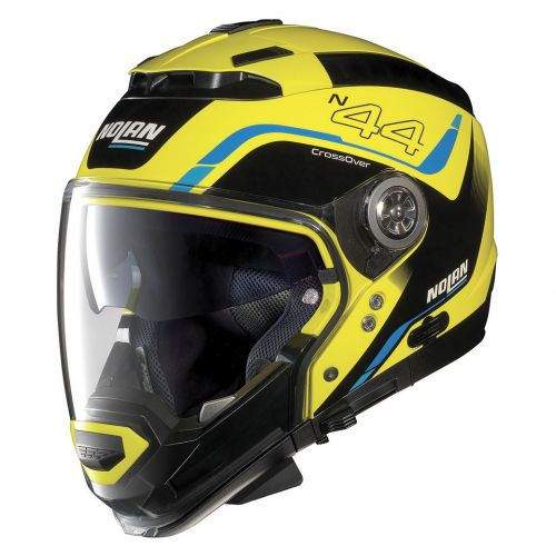 Casque Moto Jet NOLAN - N44EVO Viewpoint n-Com Led Yellow