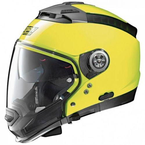 Casque Moto Jet NOLAN - N44 EVO Hi-Visibility N-Com Fluo Yellow