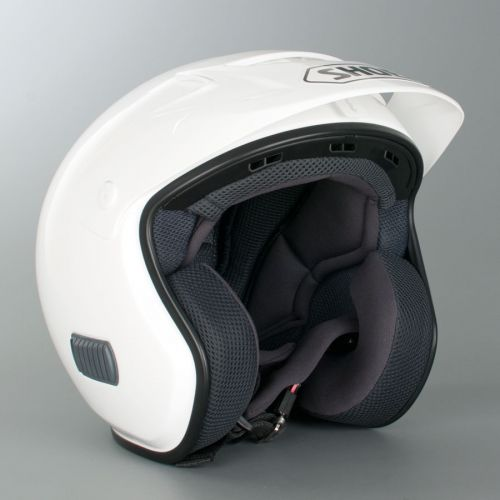 CASQUE MOTO JET TR3 PLAIN WHITE - SHOEI