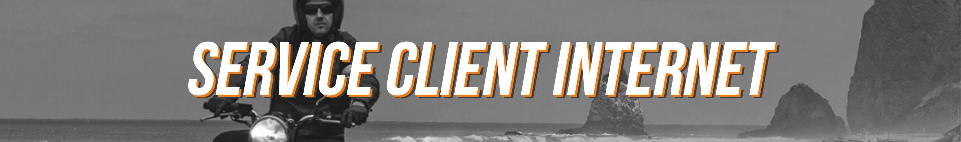 Service Client Internet